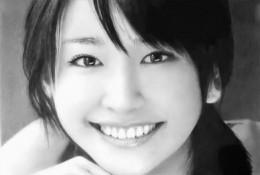 日本女神新垣结衣素描图片 新垣结衣素描画手绘教程 新垣结衣怎么画 画法