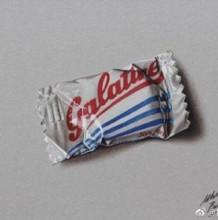 逼真的巧克力彩铅手绘 士力架/M豆/奥利奥彩铅手绘图片