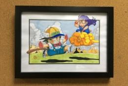 鸟山明阿拉蕾悟空动漫插画图片手绘教程 马克笔上色画法