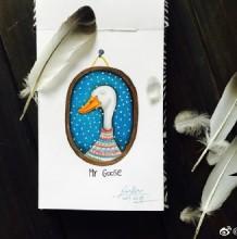 可爱的鸭子彩铅画图片 鸭子彩铅手绘教程 好看的鸭子怎么画 鸭子画法