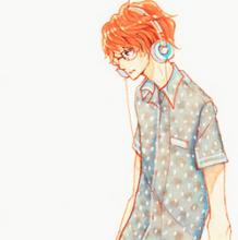 带耳机的男生插画手绘教程图片 马克笔上色步骤过程讲解画法