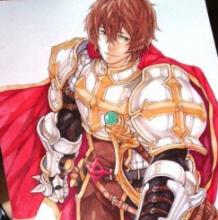 穿铠甲的男英雄武士插画手绘教程图片 马克笔上色步骤过程画法