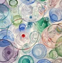 玻璃器皿水彩画 完美的玻璃质感表现水彩画图片