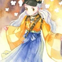 《奇迹暖暖》未来绮想曲套装水彩手绘图片教程 画法