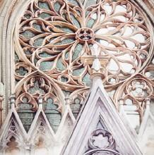 欧式教堂水彩画专辑 教堂水彩怎么画 教堂的水彩画法