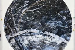 唯美逼真的雪景水彩手绘教程图片 好看的雪景水彩怎么画 雪景画法