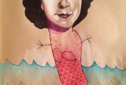国外专业插画师妈妈与女儿涂鸦完成惊艳插画作品 温馨到哭!