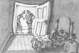 描绘人性的插画!每一张插画都深深刺痛着我的心!