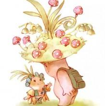 童话里的小精灵 超可爱小精灵插画集 造型可爱 色彩恬静