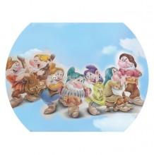 七个小矮人彩铅画图片 白雪公主与七个小矮人彩铅画怎么画 画法教程