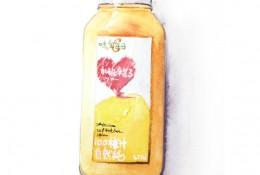 味全每日鲜果汁饮料水彩画图片教程 果汁水彩手绘教程
