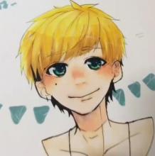 阳光男孩子的马克笔画教程, 看,他害羞了