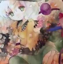 这个水彩女生的颜色太丰富了,你能hold住吗?