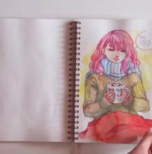 遇见一本水彩手绘绘本,美哭了。