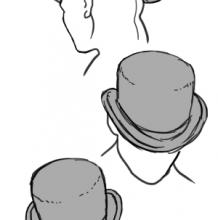 实用动漫手绘素材:想画好帽子建议收藏 各种帽子角度和常见款式