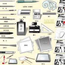 画动漫画要什么工具和材料?手绘和板绘是不是需要的不一样,各自需要什么?