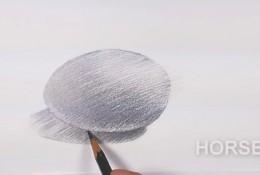 素描排线单向笔触线条怎么排线?单向的线条怎么塑造物体体积关系?鸡蛋为例