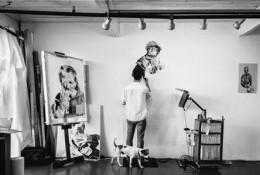 帅气素描画师Joel Daniel Phillips 系列素描人像写实作品