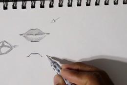 【视频】动漫人物的嘴巴怎么画 漫画嘴部的多种画法手绘视频教程