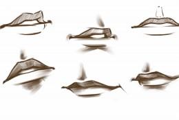【视频】动漫插画人物嘴巴的画法视频手绘教程 嘴部的画法演示讲解