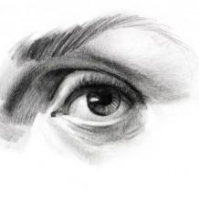 【视频】素描眼睛的画法手绘视频教程 素描人像基础课眼睛怎么画