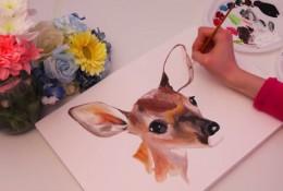 【视频】各种可爱萌的小动物水彩手绘视频教程画法 教你画可爱小动物水彩画