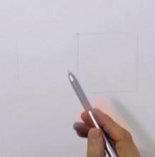 【视频】单色铅笔素描画一直犀牛手绘视频教程 犀牛的素描画教程图片