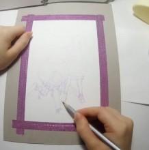 【视频】可爱的小萝莉与机器人简笔动漫插画淡彩手绘视频教程