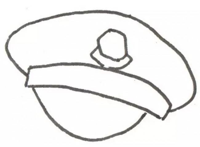 警察叔叔简笔画怎么画 教你画交警的简笔画画法 简单的警察卡通画教程