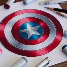 马克笔儿童画 马克笔拼贴画 马克笔简笔画 马克笔漫画教程作品图片集合 优艺星