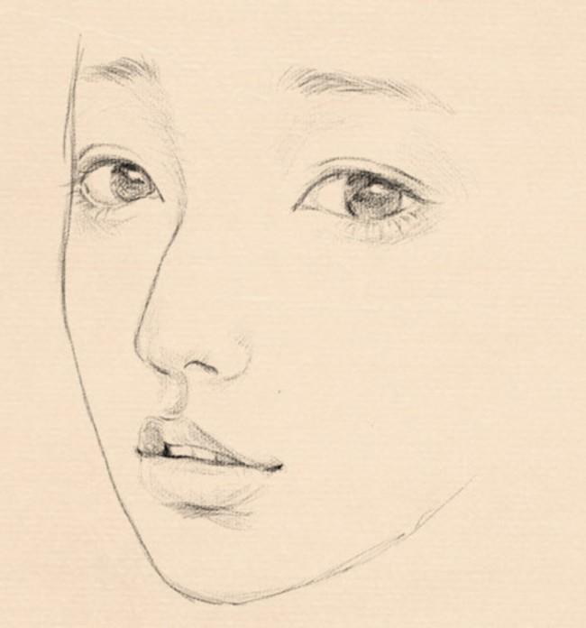 那种很美的女生铅笔画和素描是怎么画出来的