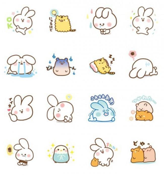 卡通小兔子图片图片展示_卡通小兔子图片相关图片图片