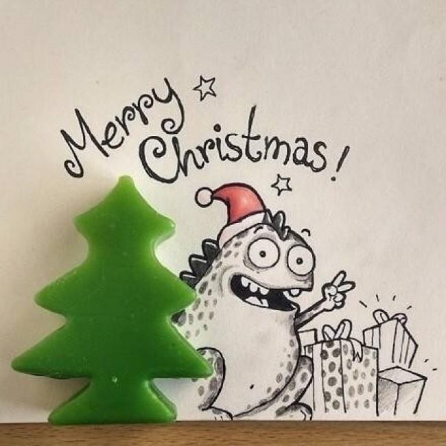可爱的漫画与实物相结合的漫画作品图片 萌萌哒 创意绘画也简单_www.youyix.com