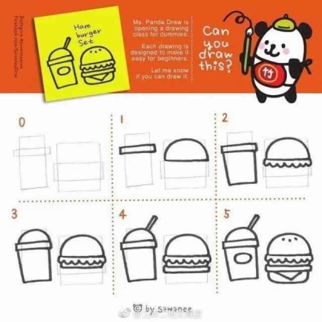 胡萝卜包子简笔画怎么画 一组最简单的简笔画教程图片 适合幼儿