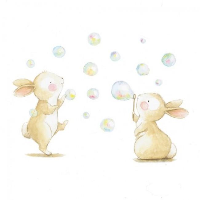 一组超可爱小动物水彩画图片合集 小清新治愈系小动物水彩画_www.youyix.com