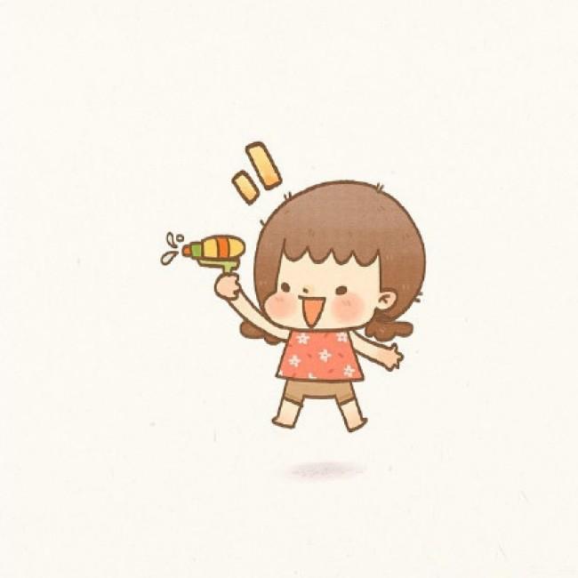 小女孩简笔画漂亮可爱 小女孩简笔画步骤 小女孩简笔画怎么画 卡通画