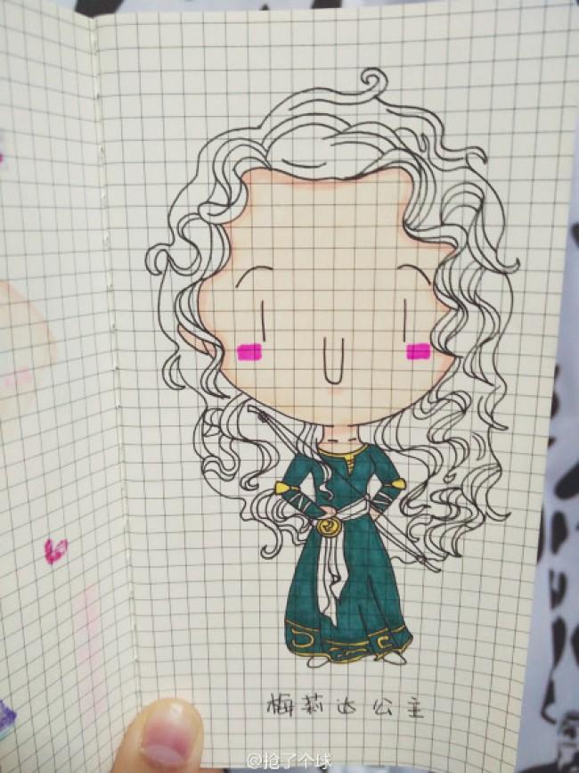 美丽的公主怎么画 公主简笔画 公主卡通画 简单的公主绘画教程