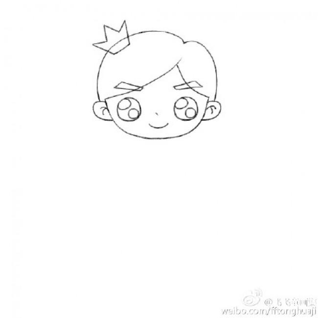 画画法 小王子简笔画儿童画怎么会 简单的小王子主题漫画 3