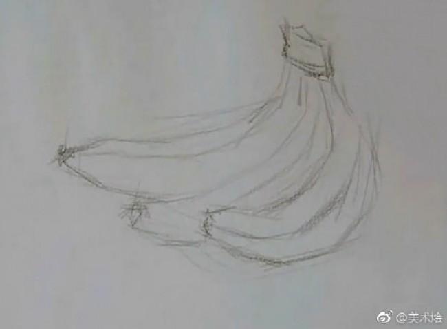 香蕉素描画怎么画 水果香蕉素描画画法 香蕉的素描教程图片图片