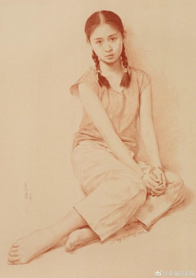 中国素描大师油画家 王沂东老师的素描作品图片欣赏_www.youyix.com