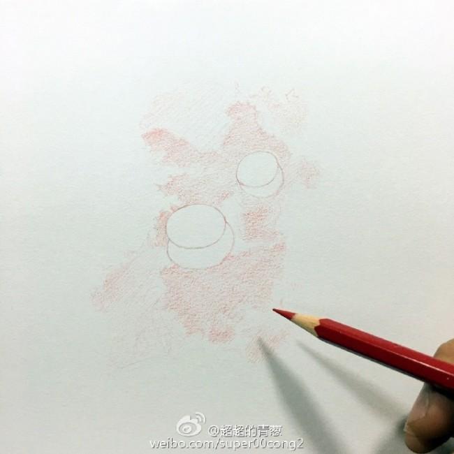 水滴手绘教程 水滴彩铅怎么画 水滴的画法图片