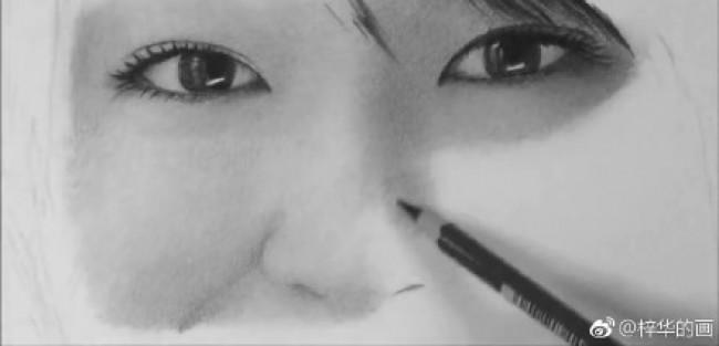 日本女神新垣结衣素描图片 新垣结衣素描画手绘教程 新垣结衣怎么画 画法_www.youyix.com
