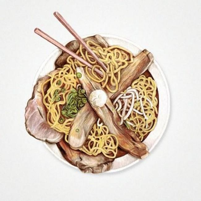各种美味甜品甜点彩铅图片 甜点彩铅怎么画 甜点的画法_www.youyix.com