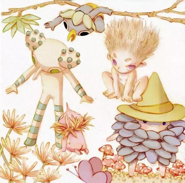 童话里的小精灵 超可爱小精灵插画集 造型可爱 色彩恬静_www.youyix.com