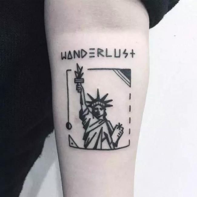 是插画也是纹身 有趣的小清新艺术系轻纹身系列 女生大爱_www.youyix.com
