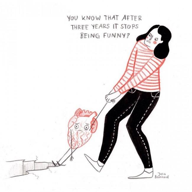 20几岁女生才懂的心事:她的插画是否也画出你内心永远长不大的女孩_www.youyix.com