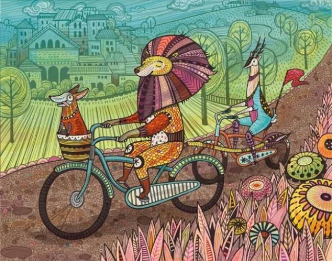 比童话还要美的插画 会让你的少女心爆棚的_www.youyix.com