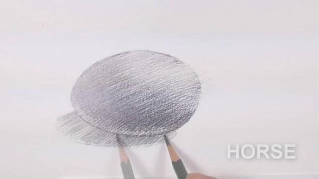 素描排线单向笔触线条怎么排线?单向的线条怎么塑造物体体积关系?鸡蛋为例!_www.youyix.com