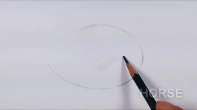 素描排线交错的笔触线条怎么排线?交错的线条怎么塑造物体体积关系?鸡蛋为例!_www.youyix.com