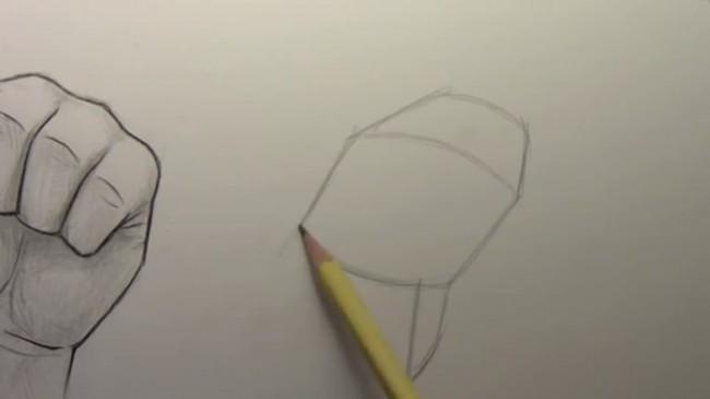 【视频】动漫插画人物手部画法演示 握紧的拳头与摊开的手掌怎么画?_www.youyix.com